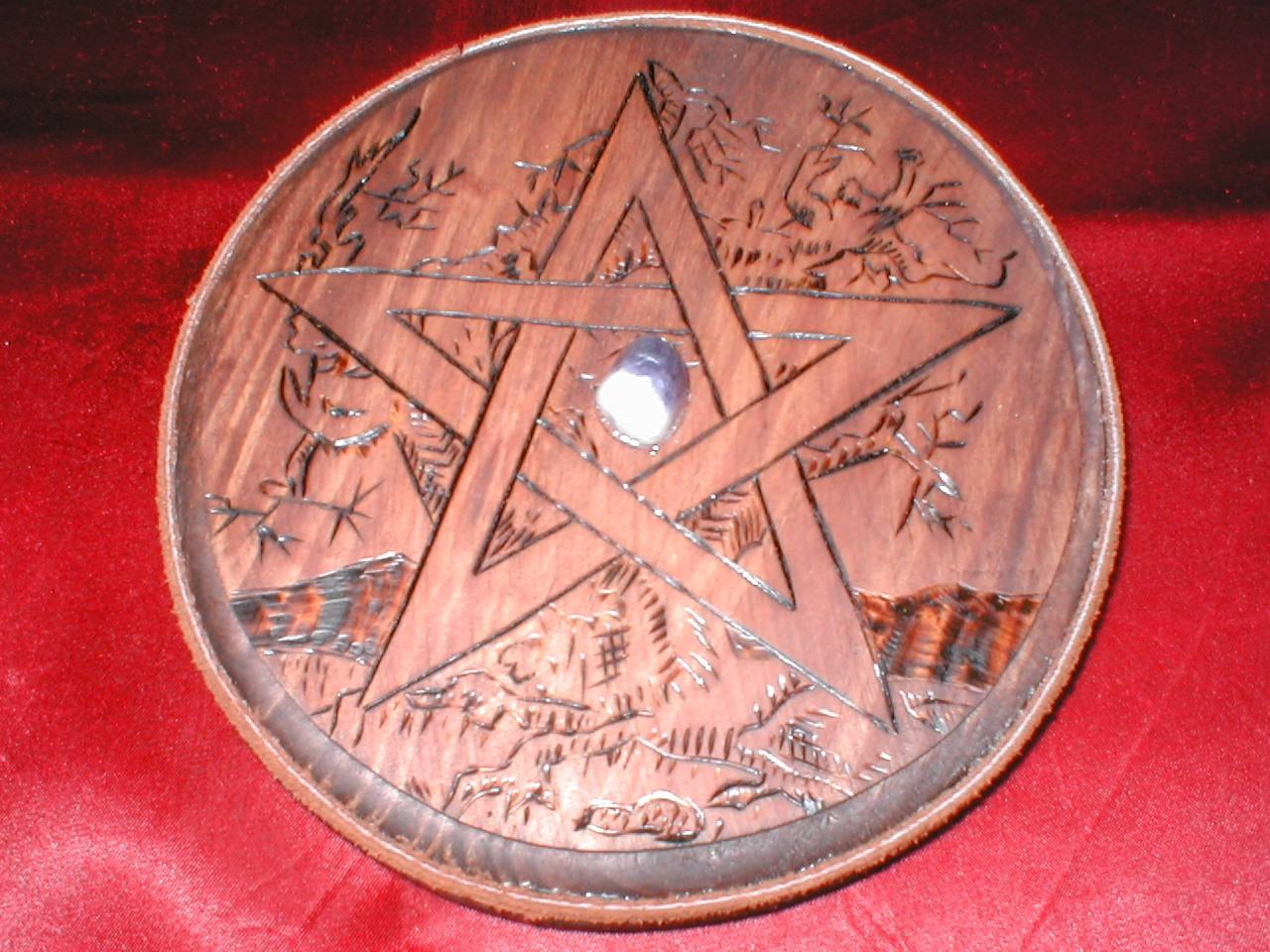 Altar Pentacles Hand Made By Www Witchcrafter Com