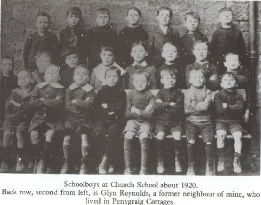 Brymbo School Class Pictures